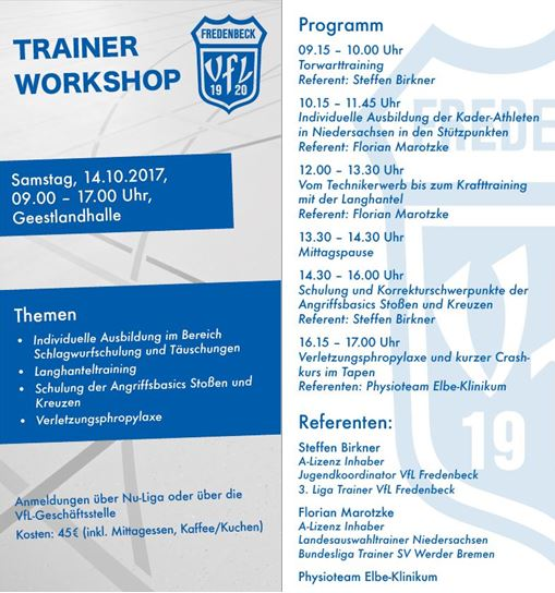 Trainer Workshop